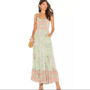 Spell & The Gypsy City Lights Strappy Maxi Dress